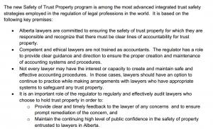 Alberta. Trust Safety